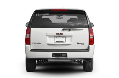 Rear Profile  2009 GMC Yukon Hybrid
