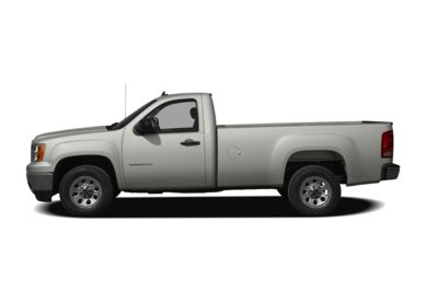 90 Degree Profile 2009 GMC Sierra 1500