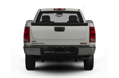 Rear Profile  2009 GMC Sierra 1500