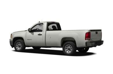 Surround 3/4 Rear - Drivers Side  2009 GMC Sierra 1500