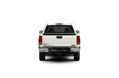 Surround Rear Profile 2009 GMC Sierra 1500 Hybrid