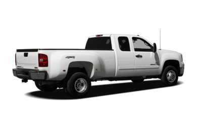 3/4 Rear Glamour  2009 GMC Sierra 3500HD