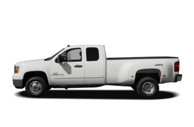 90 Degree Profile 2009 GMC Sierra 3500HD