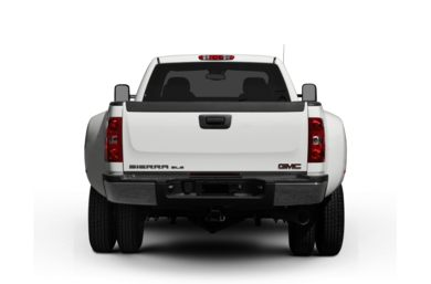 Rear Profile  2009 GMC Sierra 3500HD