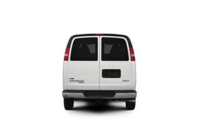 Surround Rear Profile 2009 GMC Savana 3500