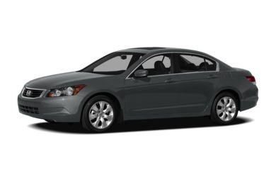 3/4 Front Glamour 2009 Honda Accord