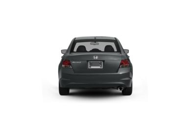 Surround Rear Profile 2009 Honda Accord
