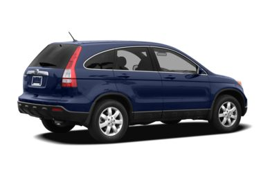 3/4 Rear Glamour  2009 Honda CR-V