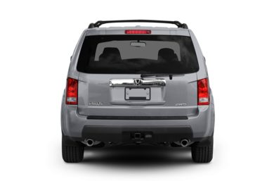 Rear Profile  2009 Honda Pilot