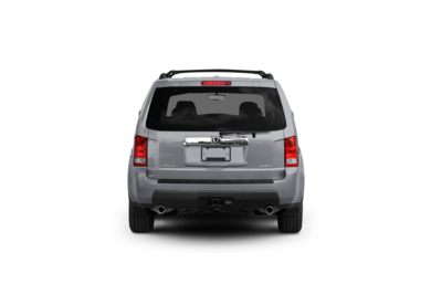 Surround Rear Profile 2009 Honda Pilot