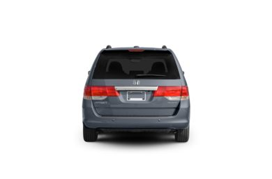 Surround Rear Profile 2009 Honda Odyssey
