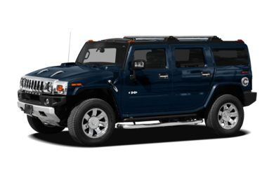 3/4 Front Glamour 2009 HUMMER H2 SUV