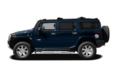 90 Degree Profile 2009 HUMMER H2 SUV