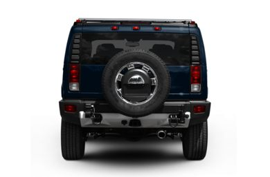 Rear Profile  2009 HUMMER H2 SUV