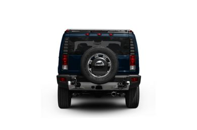 Surround Rear Profile 2009 HUMMER H2 SUV