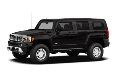 3/4 Front Glamour 2009 HUMMER H3 SUV