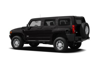 Surround 3/4 Rear - Drivers Side  2009 HUMMER H3 SUV