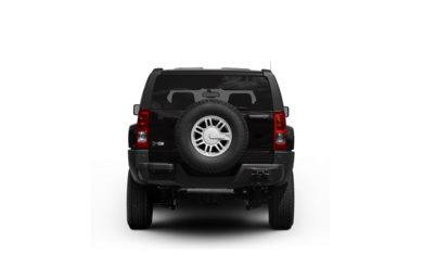 Surround Rear Profile 2009 HUMMER H3 SUV
