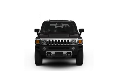 Surround Front Profile  2009 HUMMER H3 SUV
