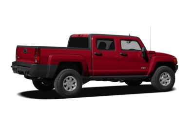 3/4 Rear Glamour  2009 HUMMER H3T