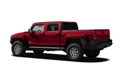 Surround 3/4 Rear - Drivers Side  2009 HUMMER H3T