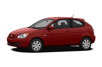 3/4 Front Glamour 2009 Hyundai Accent