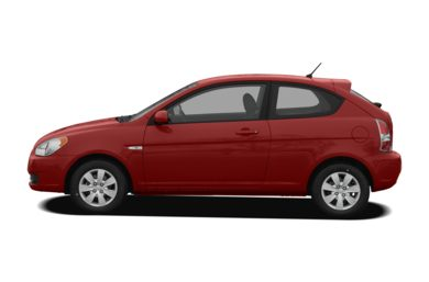 90 Degree Profile 2009 Hyundai Accent