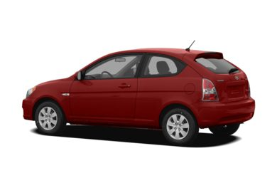 Surround 3/4 Rear - Drivers Side  2009 Hyundai Accent