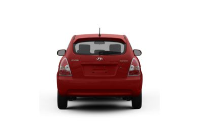 Surround Rear Profile 2009 Hyundai Accent
