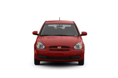 Surround Front Profile  2009 Hyundai Accent