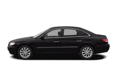 90 Degree Profile 2009 Hyundai Azera