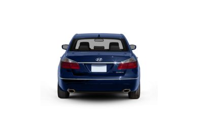 Surround Rear Profile 2009 Hyundai Genesis Sedan