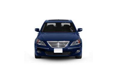 Surround Front Profile  2009 Hyundai Genesis Sedan