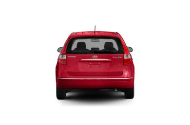 Surround Rear Profile 2009 Hyundai Elantra Touring
