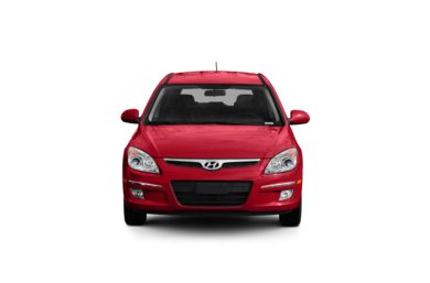 Surround Front Profile  2009 Hyundai Elantra Touring