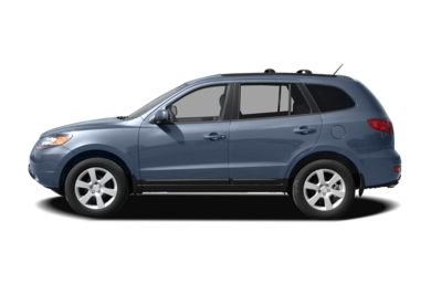 90 Degree Profile 2009 Hyundai Santa Fe