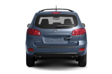 Rear Profile  2009 Hyundai Santa Fe