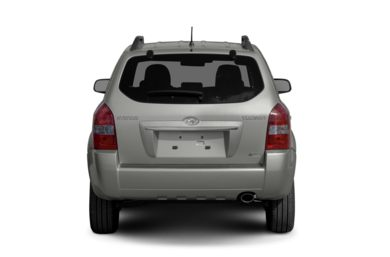 Rear Profile  2009 Hyundai Tucson
