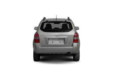 Surround Rear Profile 2009 Hyundai Tucson