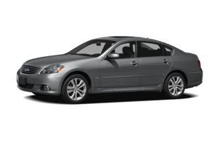 3/4 Front Glamour 2009 Infiniti M35x