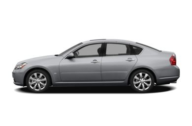90 Degree Profile 2009 Infiniti M45x