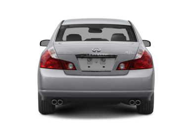 Rear Profile  2009 Infiniti M45x
