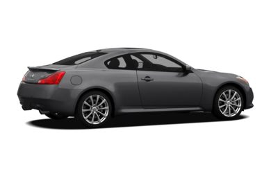 3/4 Rear Glamour  2009 INFINITI G37x Coupe