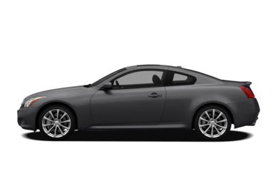 90 Degree Profile 2009 Infiniti G37x Coupe