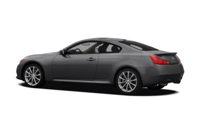 Surround 3/4 Rear - Drivers Side  2009 INFINITI G37 Coupe