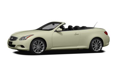3/4 Front Glamour 2009 Infiniti G37 Convertible