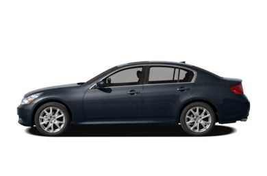 90 Degree Profile 2009 Infiniti G37x Sedan
