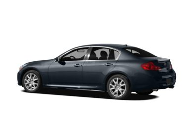 Surround 3/4 Rear - Drivers Side  2009 Infiniti G37x Sedan