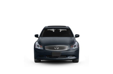 Surround Front Profile  2009 Infiniti G37x Sedan