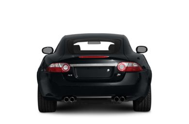 Rear Profile  2009 Jaguar XKR